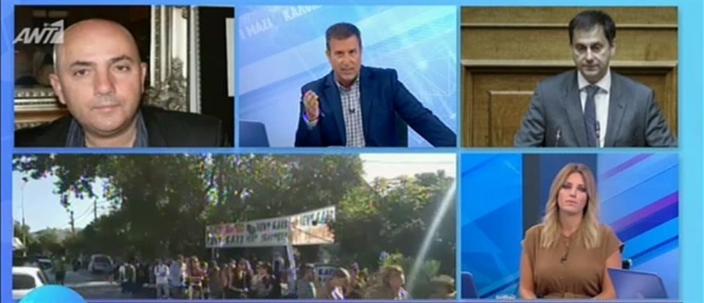Θεοχάρης στον ΑΝΤ1: πρωτοβουλίες για την ανάκτηση του χαμένου εδάφους στη Σαμοθράκη (βίντεο)