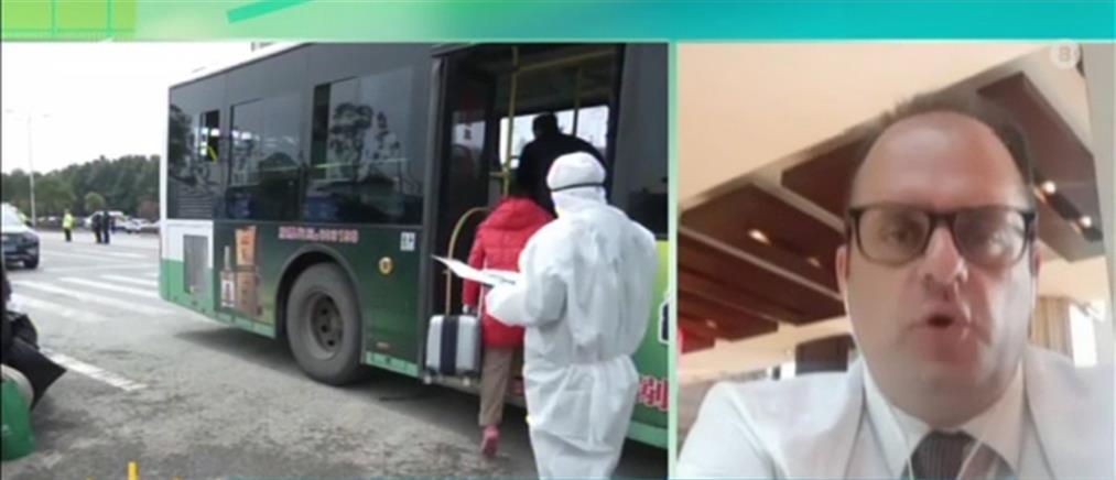 Καπογιάννης στον ΑΝΤ1: ο κορονοϊός στην Κίνα περιορίστηκε χάρη στα…. smartphones! (βίντεο)
