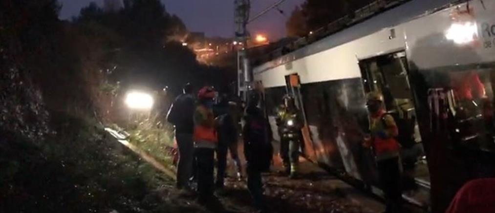 Φονικός εκτροχιασμός τρένου στην Ισπανία (βίντεο)