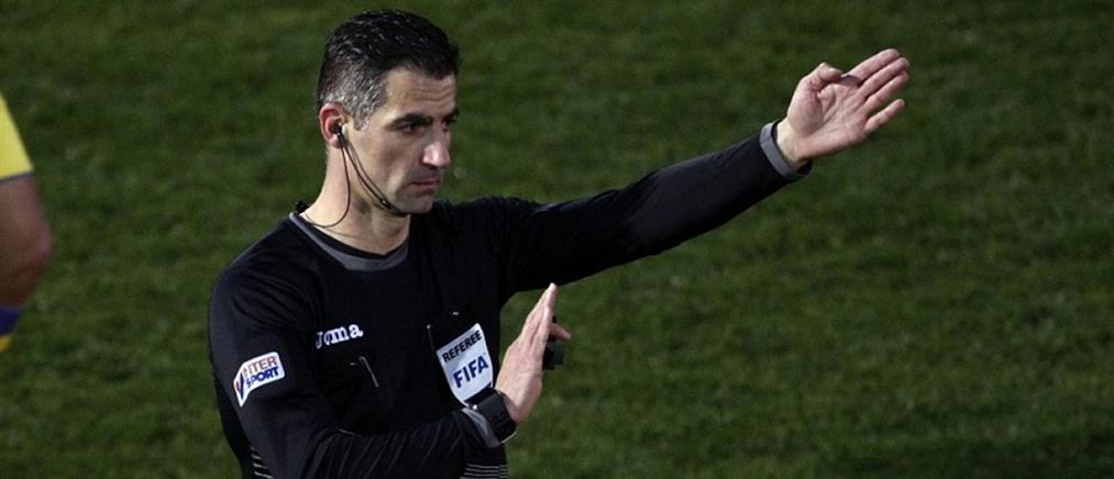 """Ο Σιδηρόπουλος θα """"σφυρίξει"""" σε αγώνα του Champions League"""