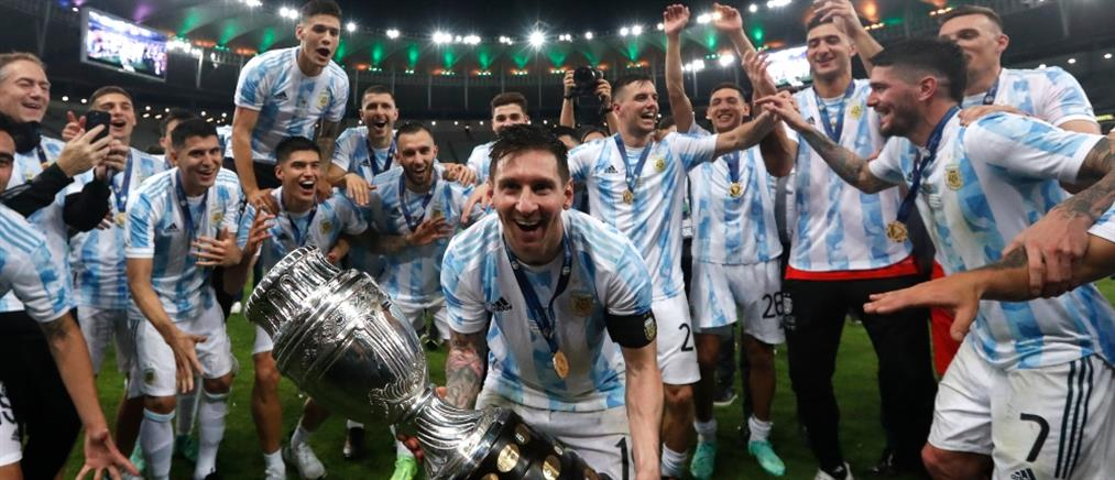 Copa America: Θρίαμβος για Μέσι και Αργεντινή μετά από 28 χρόνια