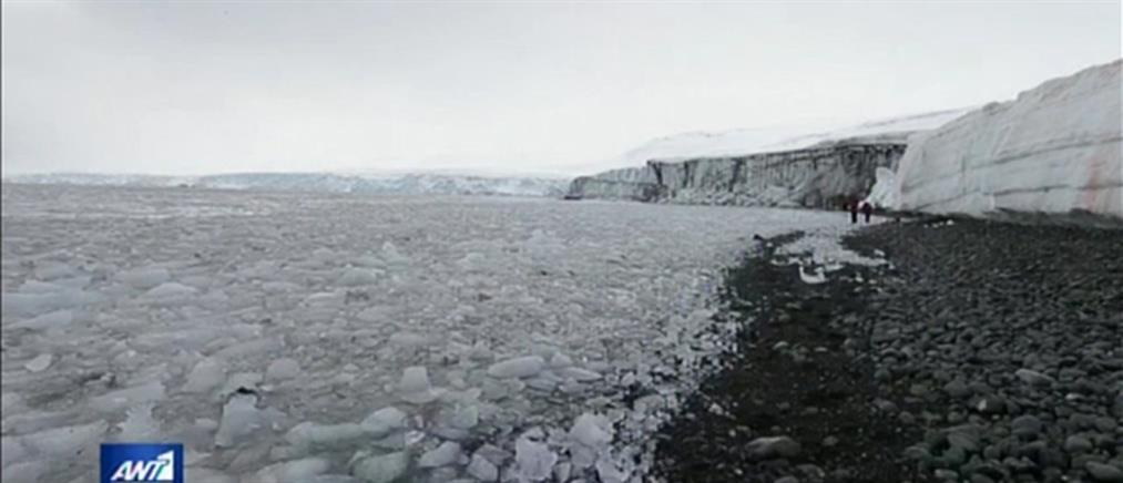 """""""Ανεβάζει στροφές"""" το λιώσιμο των πάγων στην Ανταρκτική (βίντεο)"""