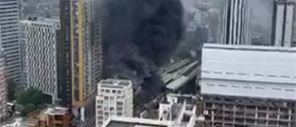 Φωτιά στο Λονδίνο: Συναγερμός σε σταθμό του μετρό (βίντεο)