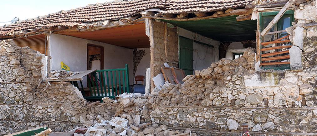 Σεισμός στη Θεσσαλία: Πόσες κατοικίες κρίθηκαν ακατάλληλες
