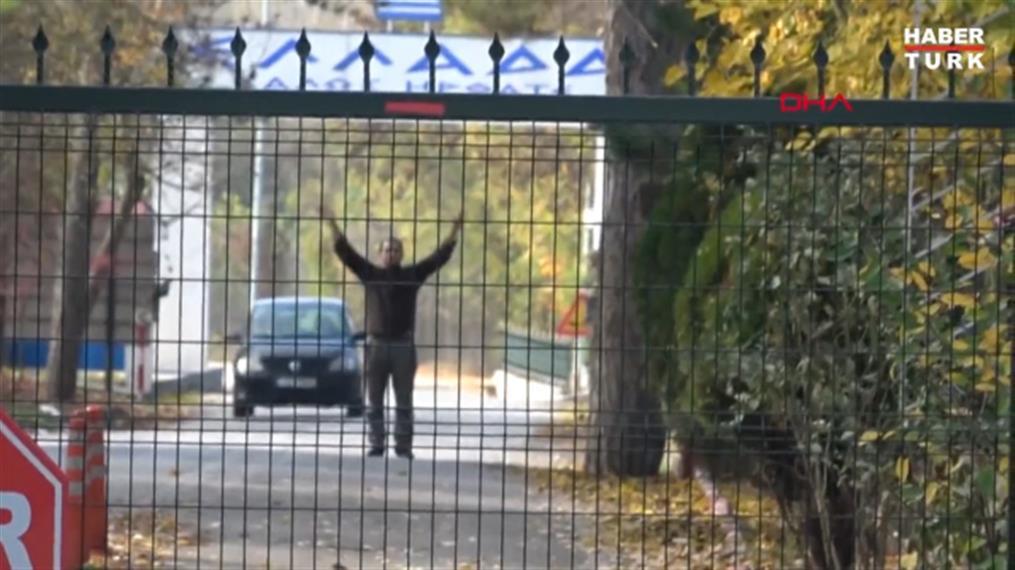 Βίντεο του Haberturk για τον εγκλωβισμένο τζιχαντιστή στη νεκρή ζώνη Ελλάδας-Τουρκίας