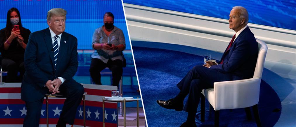 Προεδρικές εκλογές ΗΠΑ: Κόντρα για τον κορονοϊό σε άτυπο debate