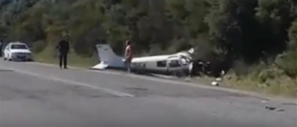 Πτώση μονοκινητήριου αεροσκάφους στη Φωκίδα