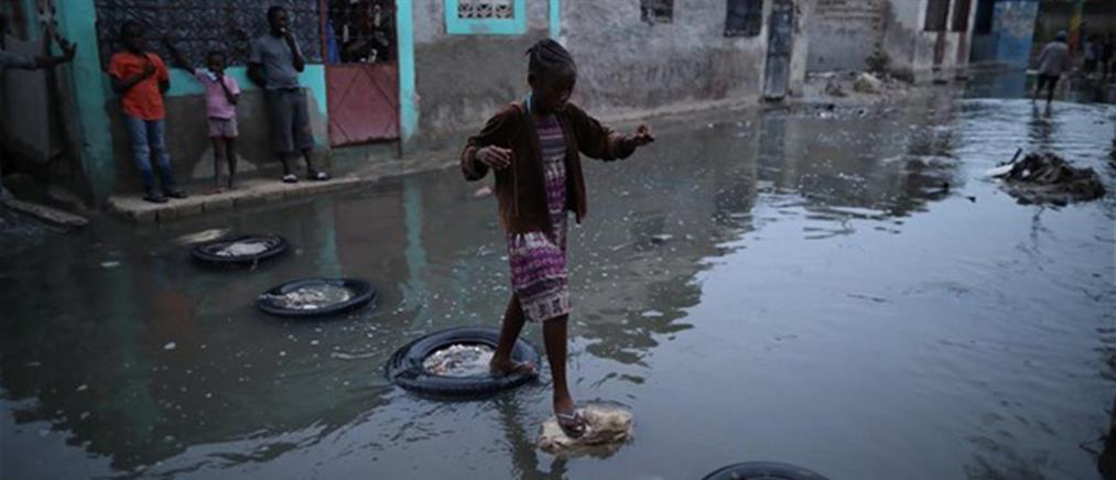 Φονικές πλημμύρες στην Αϊτή