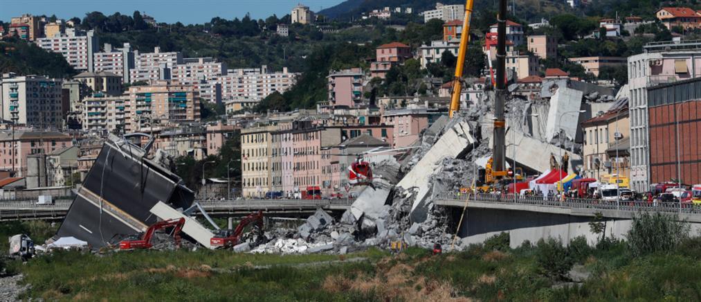 Τραγικός απολογισμός στην Γένοβα: Στους 43 οι νεκροί
