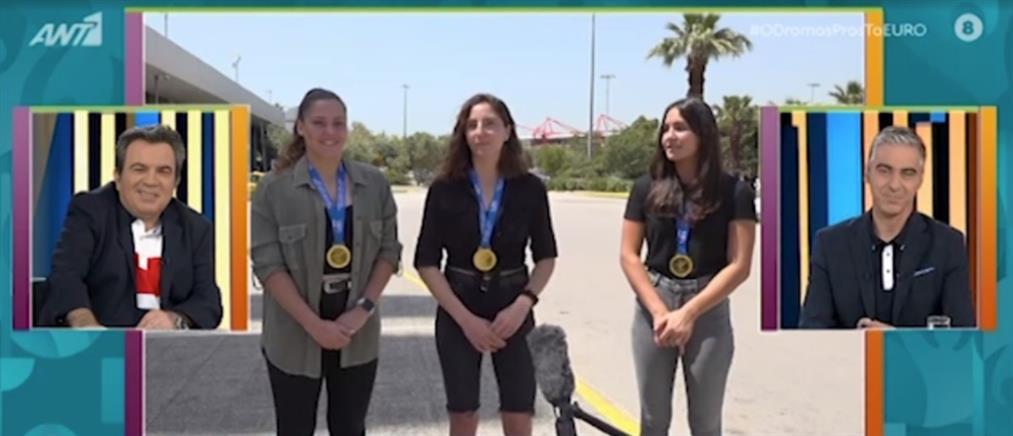 Οι αδερφές Πλευρίτου στον ΑΝΤ1 για τον θρίαμβο του Ολυμπιακού στο πόλο (βίντεο)