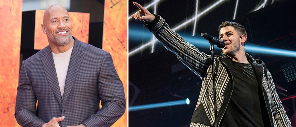 """GQ: Ντουέιν Τζόνσον εναντίον Νικ Τζόνας για τον τίτλο του """"μετρ του στυλ"""""""