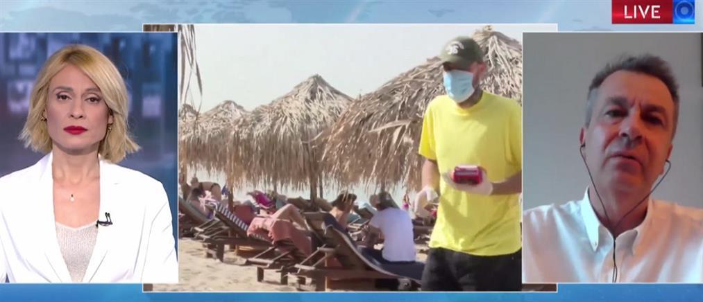 Λαγουβάρδος στον ΑΝΤ1: Προσοχή στον ήλιο, είναι επικίνδυνος (βίντεο)