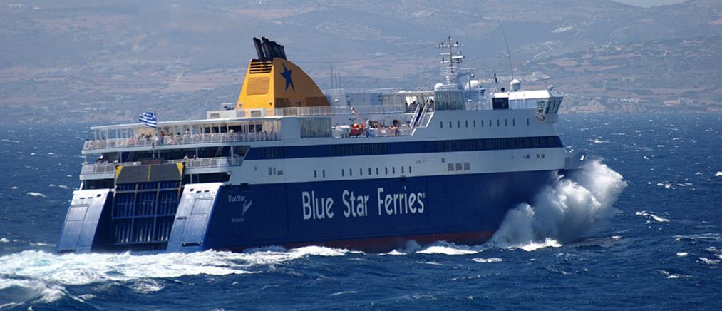 Εισροή υδάτων στο πλοίο Blue Star Naxos