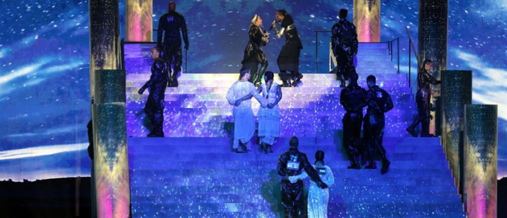 Eurovision: τα φάλτσα της Μαντόνα και το μήνυμα ειρήνης που ενόχλησε (βίντεο)