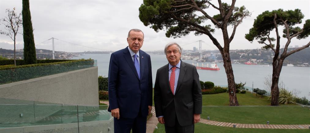 Γιατί δεν συζήτησαν το Κυπριακό Ερντογάν και Γκουτέρες