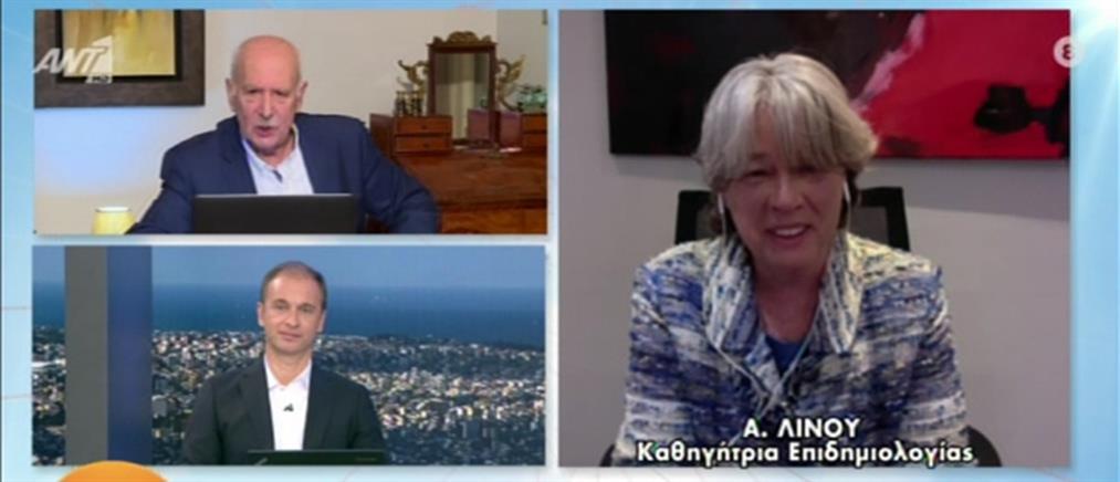 Κορονοϊός - Λινού στον ΑΝΤ1: υπάρχουν τεχνικά προβλήματα με το εμβόλιο (βίντεο)