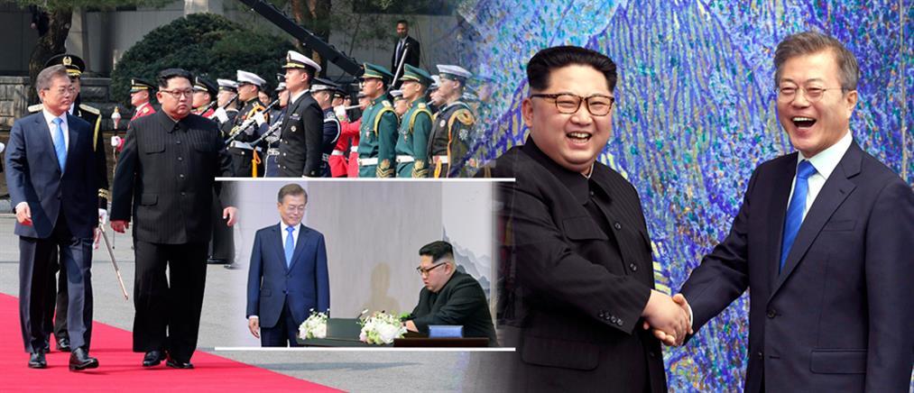 Συμφωνία ειρήνης στην Κορέα 65 χρόνια μετά τον πόλεμο