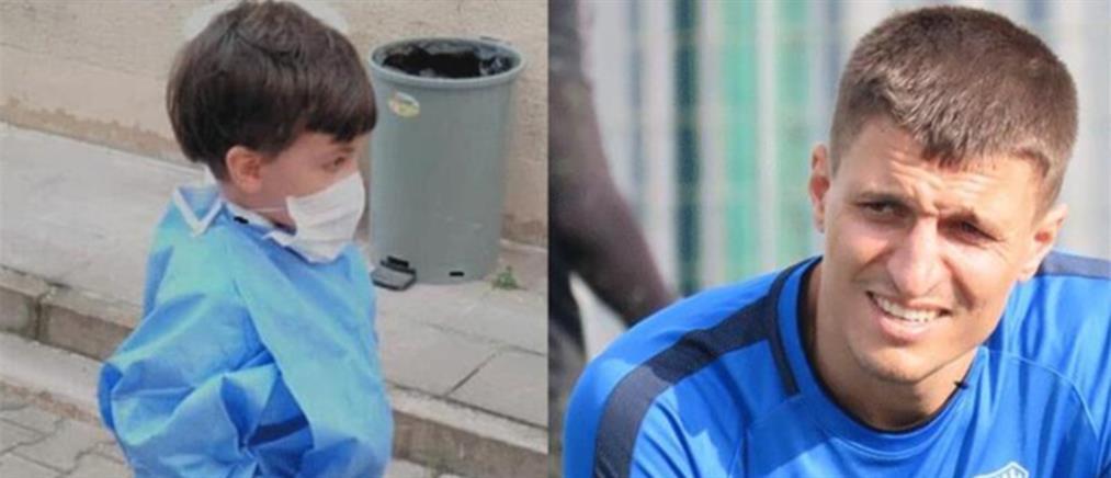 Τούρκος ποδοσφαιριστής σκότωσε τον πεντάχρονο γιό του
