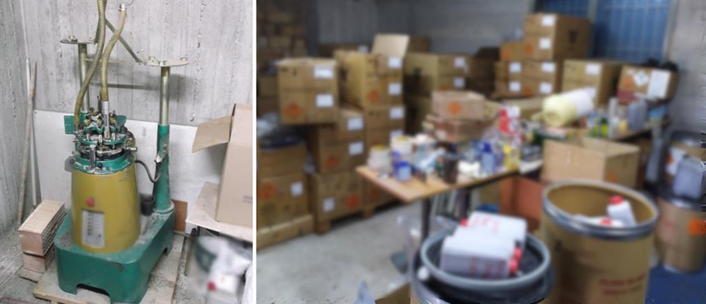 ΕΛΑΣ: Βρήκε μισό τόνο πυρίτιδας και χιλιάδες φυσίγγια (εικόνες)
