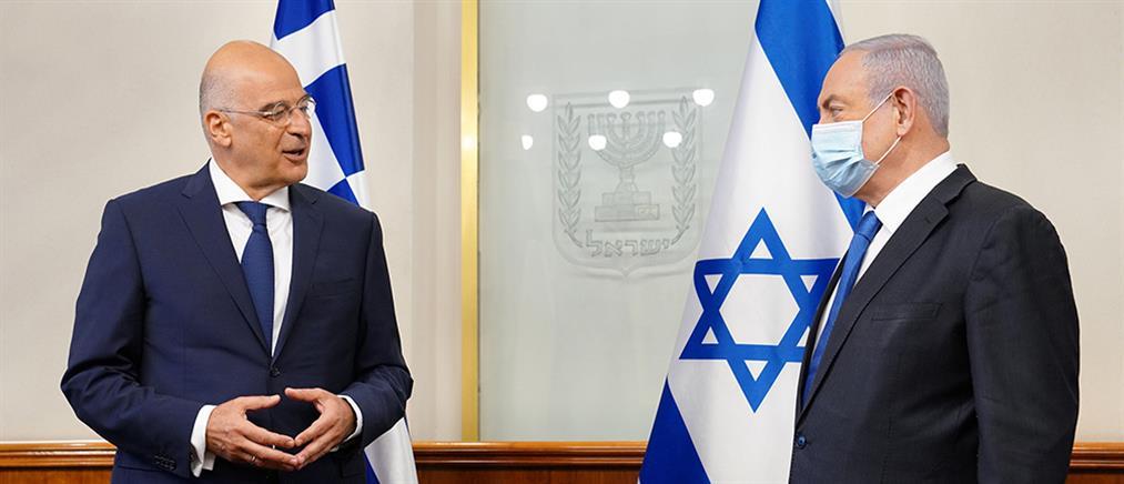 Η τουρκική παραβατικότητα στο επίκεντρο των επαφών Δένδια στο Ισραήλ