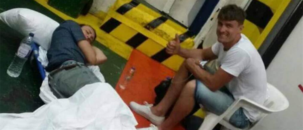 """Συνεχίζεται ο """"τραγέλαφος"""" με τον τραυματία τουρίστα που διακομίσθηκε σε γκαράζ καραβιού"""