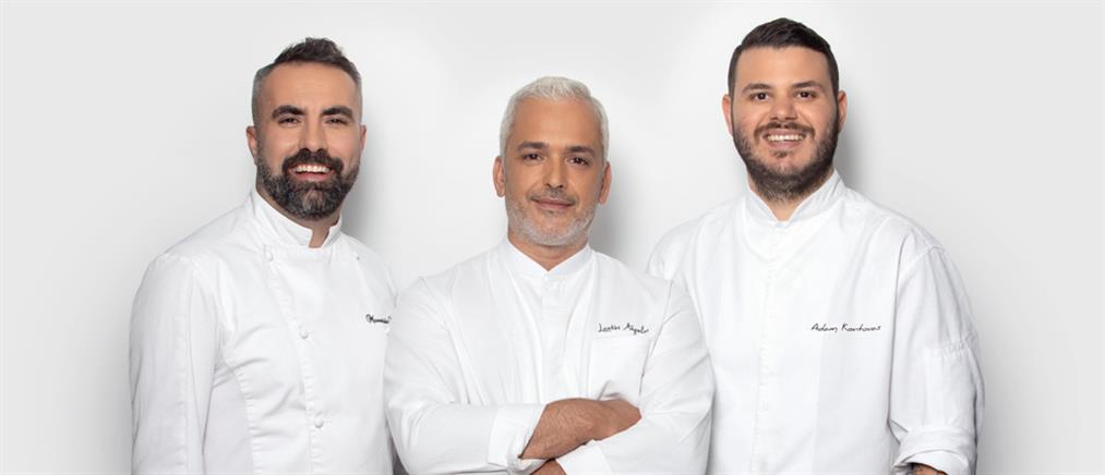 """Game Of Chefs"": οι 3 κριτές (εικόνες)"