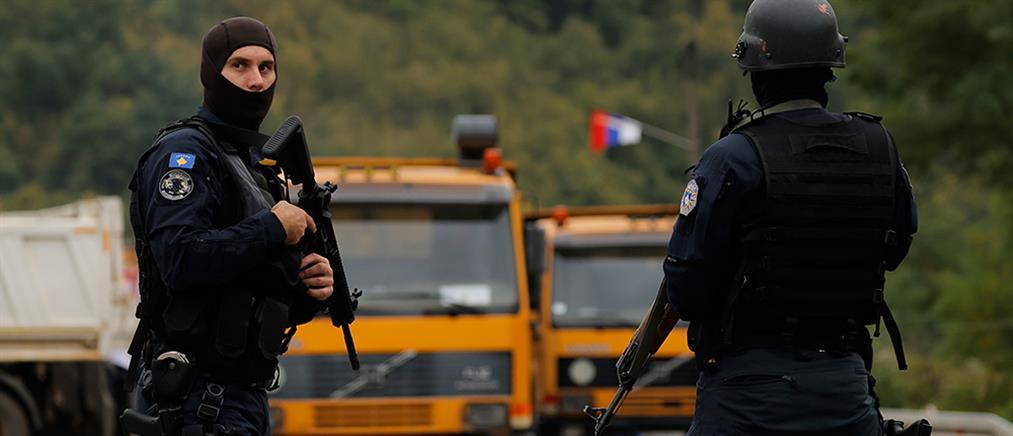 Κόσοβο: οδοφράγματα και αποκλεισμοί συνοριακών διαβάσεων (εικόνες)