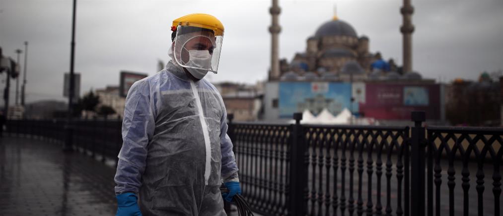 """Τουρκία: ο κορονοϊός """"σαρώνει"""" την χώρα"""