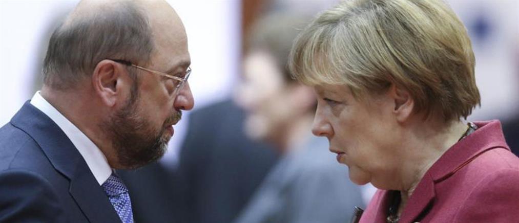Υπέρ συνασπισμού με το SPD το κόμμα της Μέρκελ
