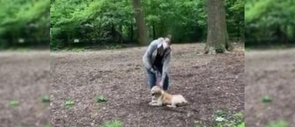 Λευκή κατήγγειλε μαύρο γιατί... της ζήτησε να βάλει λουρί στον σκύλο της (βίντεο)