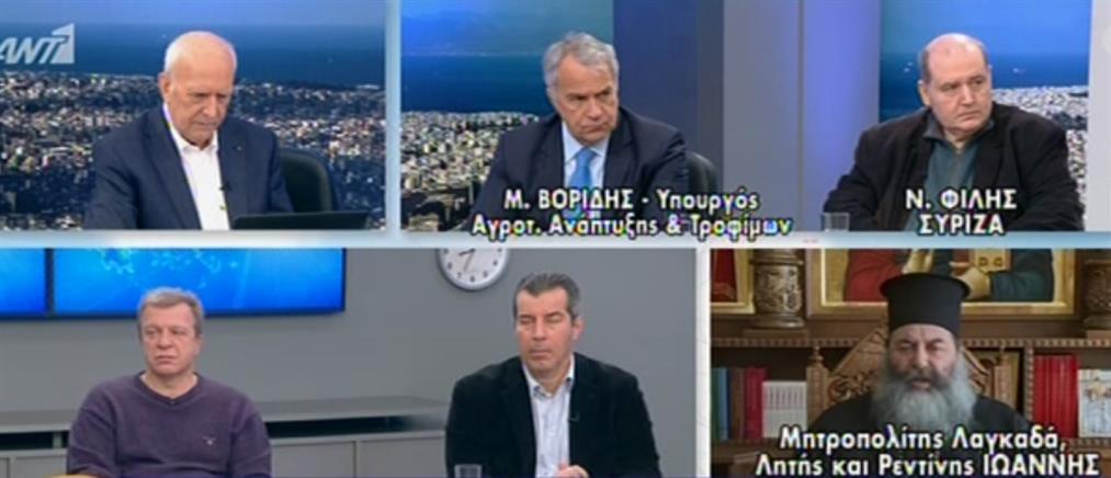 Βορίδης – Φίλης στον ΑΝΤ1 για τον κορονοϊό και το Μεταναστευτικό (βίντεο)