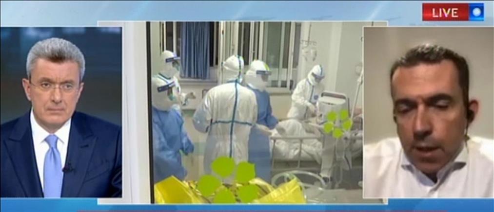 Αντώνης Πανταζής στον ΑΝΤ1: προετοιμαζόμαστε για το χειρότερο σενάριο της πανδημίας (βίντεο)