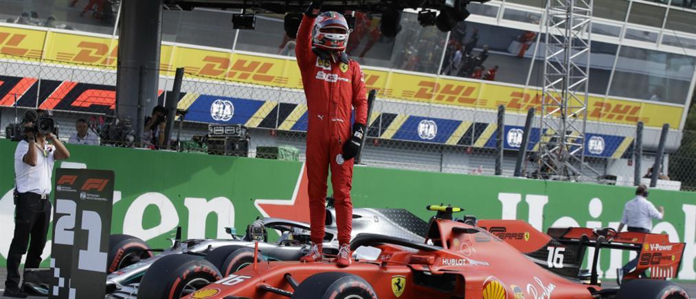 F1: Στον Λεκλέρκ η pole position στην πίστα της Μόντσα