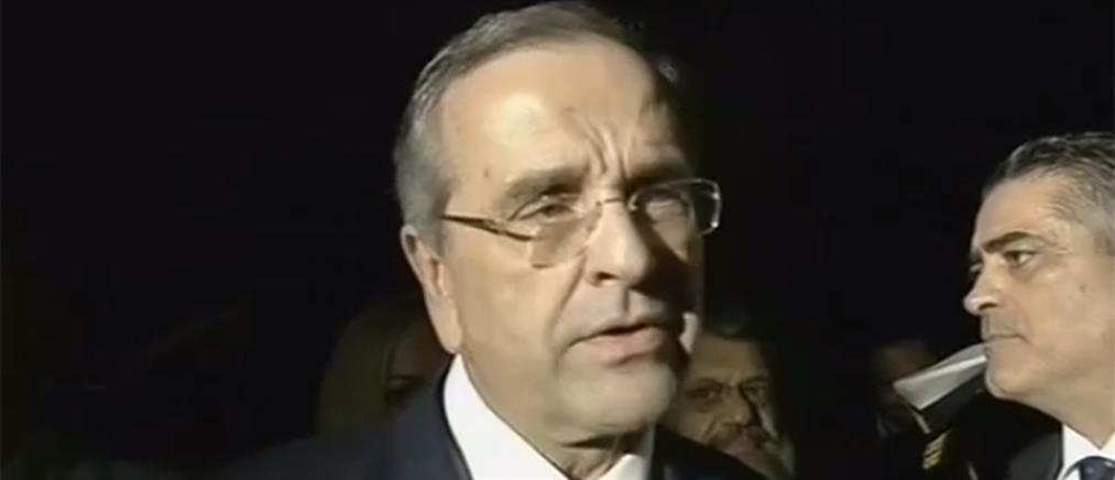 Σαμαράς: εμείς γιορτάζουμε τη ναυμαχία του Ναυαρίνου κι άλλοι βυθίζονται στις Πρέσπες