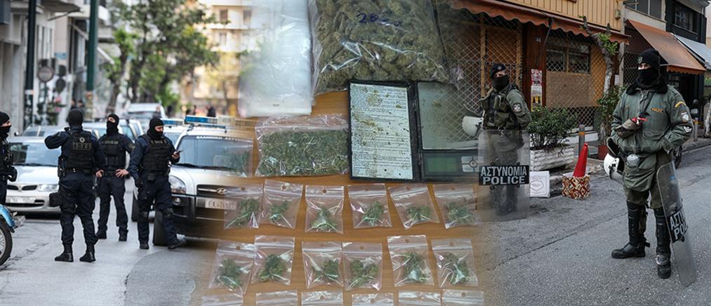 Εξάρχεια: εκκένωση κτηρίων με συλλήψεις, προσαγωγές και ένα ...εργαστήριο ναρκωτικών