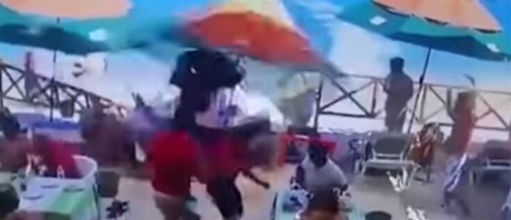 Βίντεο - σοκ: Τζετ σκι μπήκε σε εστιατόριο και σκόρπισε τον θάνατο