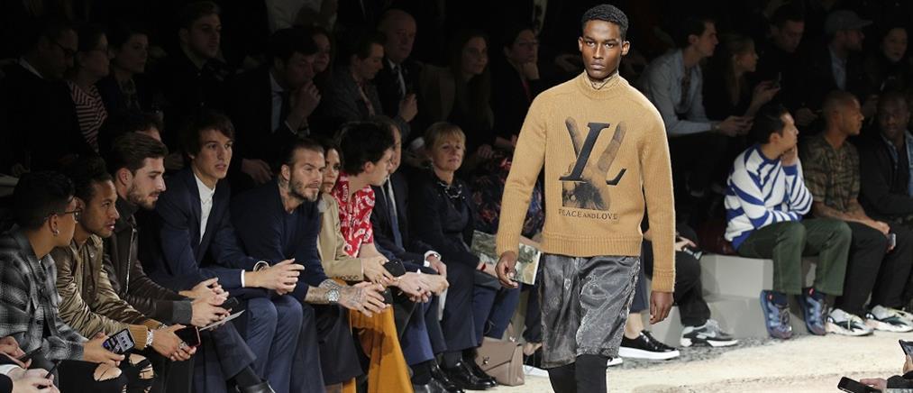 Νεϊμάρ και Μπέκαμ σε επίδειξη μόδας στο Παρίσι (βίντεο)