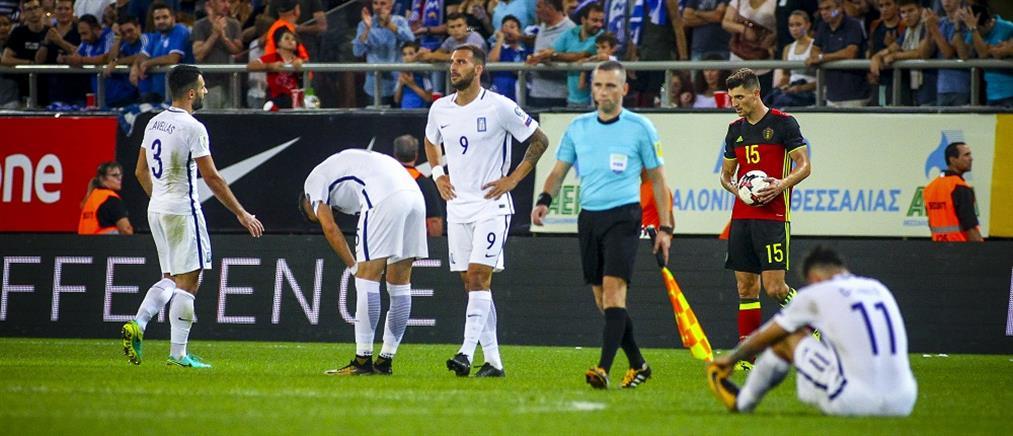 Πείσμωσαν οι διεθνείς μετά την ήττα από το Βέλγιο