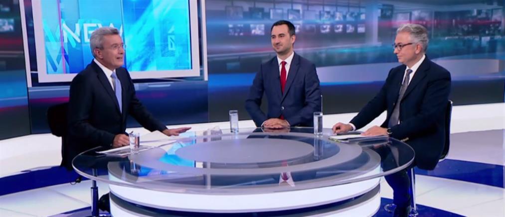 Χαρίτσης - Ρουσόπουλος στον ΑΝΤ1 για τις εκλογές της 7ης Ιουλίου (βίντεο)