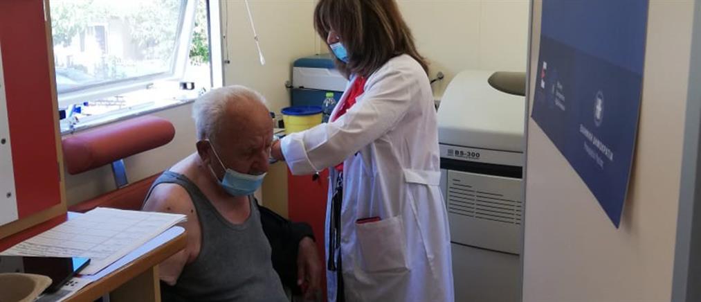 Κορονοϊός: Εμβολιασμοί σε χωριά στην Στερεά Ελλάδα (εικόνες)
