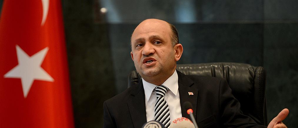 """Τούρκος Υπουργός Άμυνας: Λάθος η απόφαση της Ελλάδας για τους """"8"""""""