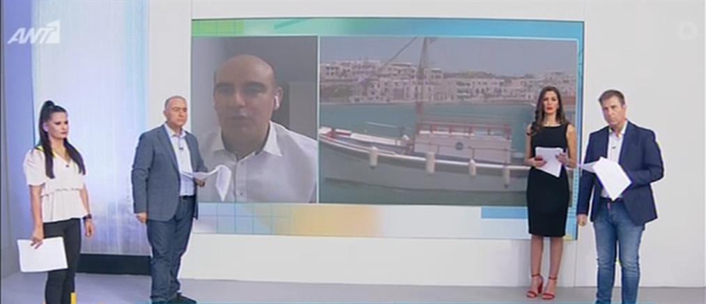 Χότζογλου στον ΑΝΤ1: γιατί οι εποχικοί στην εστίαση δεν παίρνουν το επίδομα των 534 ευρώ (βίντεο)