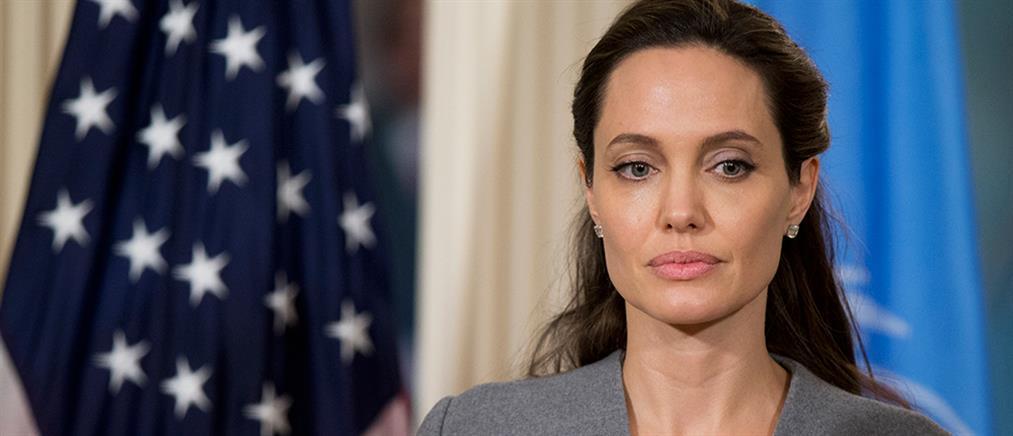 Η Αντζελίνα Τζολί στο αρχηγείο του ΝΑΤΟ