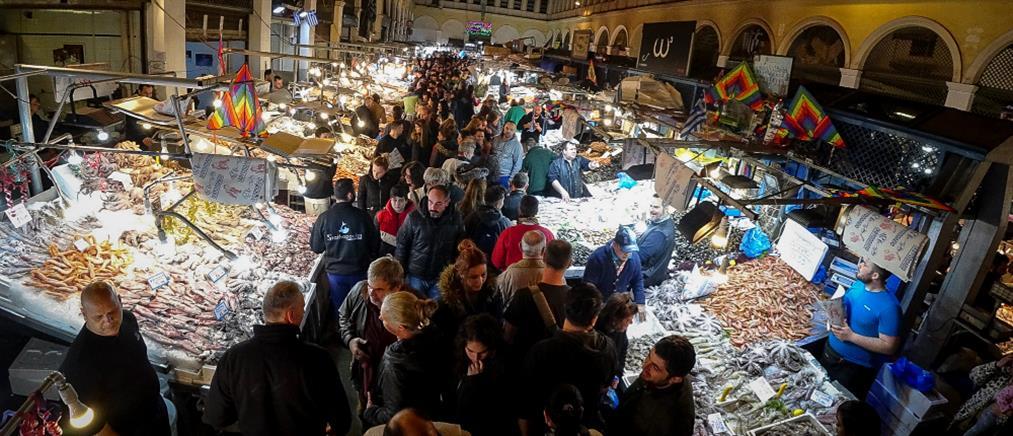 Κούλουμα: στην αγορά για τα ψώνια της τελευταίας στιγμής