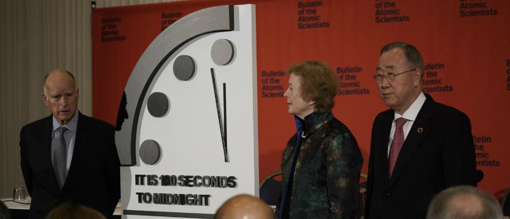 """""""Ρολόι της Αποκάλυψης"""": 100 δευτερόλεπτα πριν το τέλος του κόσμου (βίντεο)"""