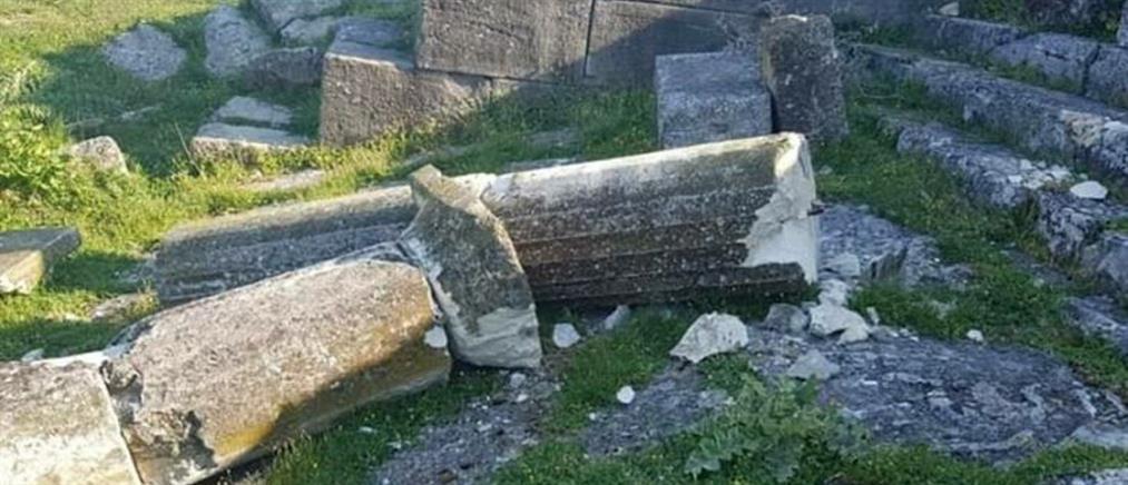 Κατέστρεψαν το Νυμφαίο της αρχαιοελληνικής Απολλωνίας (εικόνα)