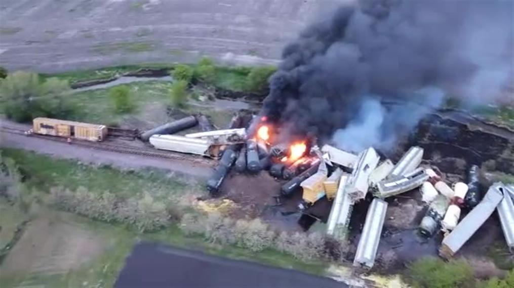 ΗΠΑ: Εκτροχιασμός τρένου στην Ιόβα