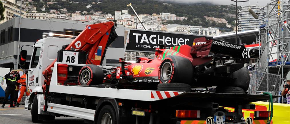 Formula 1 Monaco: Με ατύχημα στην pole position ο Σαρλ Λεκλέρκ