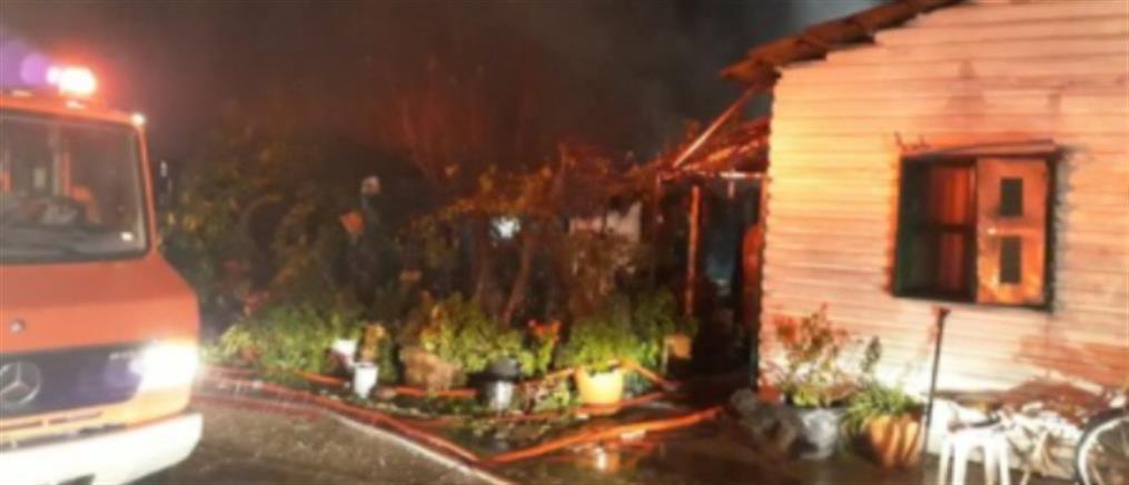 Φριχτός θάνατος γυναίκας από φωτιά σε αγροικία