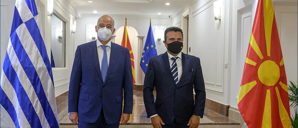 Ζάεφ σε Δένδια: βασιζόμαστε στην Ελλάδα για την ένταξή μας στην ΕΕ